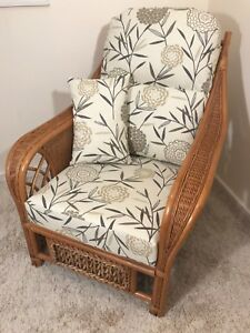 REPLACEMENT CUSHION COVERS FOR CANE CONSERVATORY FURNITURE unpiped