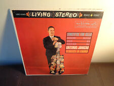 ANTONIO JANIGRO CELLO CTOS RCA LSC 2365 LIVING STEREO SHADED DOG 1S/7S VG+