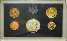 1969-S US MINT PROOF SET SILVER HALF DOLLAR UNC TONED #19 (DR)