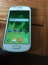 USED SAMSUNG GALAXY S3 MINI UNLOCKED MOBILE SMARTPHONE WHITE 8 GB