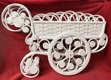 vintage Burwood Products Garden Wagon Wall Pocket/planter