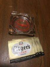 Vtg Fitgers Beer Ashtray Duluth MInnesota The Call Of The North Rare Labels