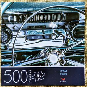 Cardinal Jigsaw Puzzle, Wheel Volant Cardinal, 500 Pieces