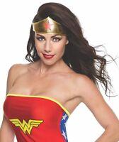 Wonder Woman Boot Covers Headband Tiara Lasso Adult kids Superhero Accessory