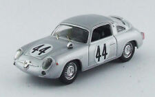 Fiat Abarth 700 #44 22nd (2nd Class) 1000 Km Parigi 1961 J. Vinatier 1:43 Model