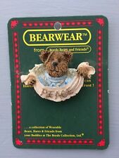 New Boyd's Bears & Friends Bearware Collection Peace Pin (Fc)