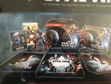Captain America : Civil War Coffret Steelbook Edition spéciale Fnac Blu-ray