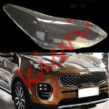 1PCS Right Side Headlight Cover Clear PC + Glue replace For KIA Sportage 17-20