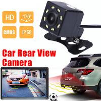 Night Vision 170º CMOS Car Rear View Reverse Backup Parking HD Camera Waterproof