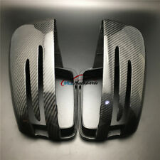 Carbon Fiber For Benz GL GLS ML GLE X166 W166 C292 Rearview Mirror Cover Replace