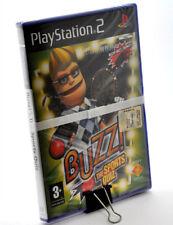 BUZZ THE SPORTS QUIZ sony playstation PS2 italiano sigillato nuovo