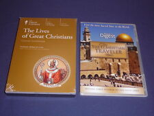 Teaching Co Great Courses DVDs      THE  LIVES OF GREAT CHRISTIANS   new + BONUS