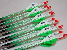 1 dozen Easton Axis N Fused 340 carbon custom arrows w/blazers!!