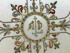Pale Liturgique & Messe & Calice & Broderie & XIX ème Siècle & Art Sacré