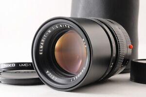 【TOP MINT+】Leica Elmarit-M 90mm F/2.8 MF Camera Lens E46 Black +Case Filter JP