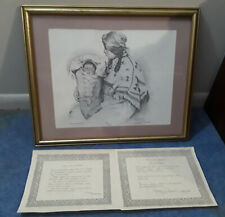 "SIGNED BY THE ARTIST DAN BREWER PEN AND INK PRINT (LIMITED  496/1250)16""x12.5"""