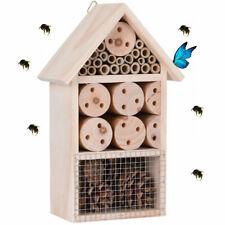 Hôtel à Insectes - abri refuge nichoir maison abeille ..- En Bois