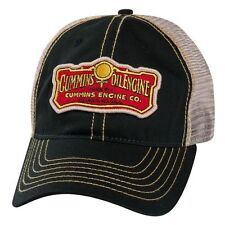 Dodge Ram Cummins Engine Co Diesel Vintage Trucker Cap Hat Oil Mesh Ballcap