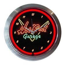 Neonetics 8HOTRD Hot Rod Garage Neon Wall Clock