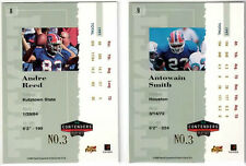 Andre Reed 1998 Playoff Contenders Ticket Registered Exchange Redemption #3/8