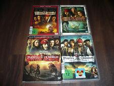 DVD - Fluch der Karibik 1-4 1 5 1+2+3+4 Sammlung Johnny Depp Walt Disney