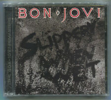 BON JOVI * SLIPPERY WHEN WET * REMASTERED * CD * NEW & SEALED