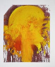 HERMANN NITSCH -giclee sur la toile, 40ger édition, 73,5 X 61,0 cm, dédicacé