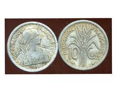 INDOCHINE  10  cent 1945