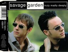 SAVAGE GARDEN Truly Madly Deeply MCD 1998 RAR & WIE NEU 90s Rock / Pop Klassiker