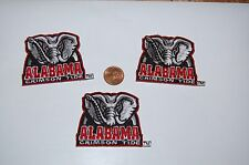 Alabama Crimson Tide 2 1/8 Patch 2004-Present Secondary Logo College 3 Patch Lot