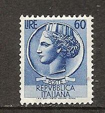 "ITALY # 632 MNH ""ITALIA"" AFTER SYRACUSEAN COIN"