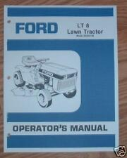 FORD LT8 LAWN TRACTOR & ENGINE OWNERS MANUALS SET