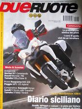 Dueruote 62 2010 Ducati Multistrada 1200S. Anteprime Norton 961 Commando  [Q74]