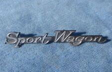 1968 Buick Sportwagon Grill Script Badge GM # 1384909 Very Nice Used