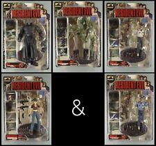 Palisades Action Figuren Komplett-Set CAPCOM Resident Evil Series 2  von 2001