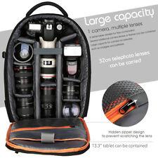 DSLR SLR Camera Backpack Bag Case for Canon Nikon Sony Waterproof K&F Concept