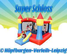 """Hüpfburg """"SUPER SCHLOSS"""" deutschlandweit zu mieten (Wochenendpreis, 2 Tage)"""