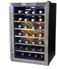 New Wine Cooler Chiller Bottle U Rack Stainless Steel Enthusiast 28 Line Storage