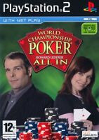 World Championship Poker Feat. Howard Lederer Alle IN PS2 Spiel 2 Italienisch