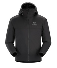 Arc'Teryx Atom AR Hooded Insulated Jacket Men's Medium M Black MSRP $299 NEW