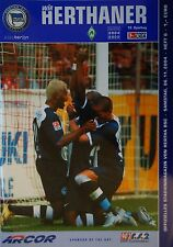 Programm 2004/05 Hertha BSC Berlin - Werder Bremen