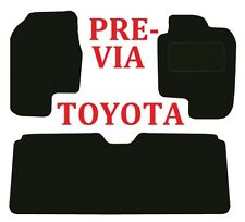 Toyota Previa Deluxe Quality Tailored Car mats