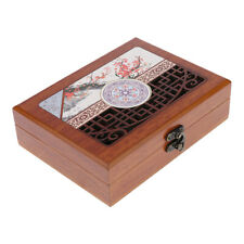 Wood Bracelet Storage Boxes Jewelry Organizer Display Gift Packaging Case