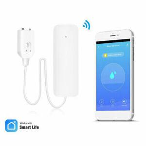 WLAN-Wassermelder WiFi Wasserleck Wasser-Alarm Wassersensor App-Benachrichtigung