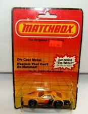 Matchbox Superfast No 34 Chevy Pro-Stocker Yellow 5 Spoke Front Wheels MIB