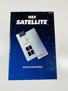 Satellite NES Nintendo Controller Original Instruction Manual Only 4 Player