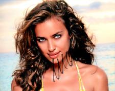 Autographed Irina Shayk 8 X 10  photo Super Hot