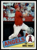2020 Update Chrome Silver Pack 1985 Baseball #CPC-45 Mike Trout- Angels
