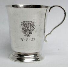 1924 BIRMINGHAM STERLING SILVER TEA CUP