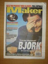 MELODY MAKER 1996 DEC 14 BJORK OASIS U2 PRODIGY GENE